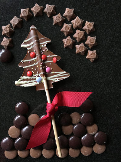 Chocolate Christmas Celebration Chocolate Chocolate Decadence Chocolates Christmas Christmas Decoration Christmas Tree Shape Festive Season Food No People Party Ready-to-eat Sweet Food