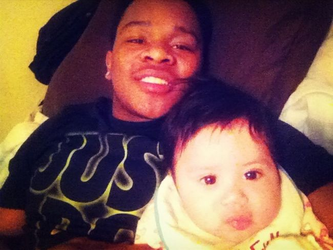 Me Nd The Baby Chillin