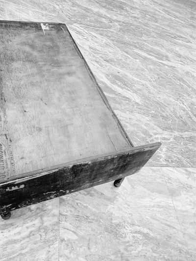 Ssclix SSClicks SSClickPics SSClickpix Wooden Bed Marble Surface Floor Black And White Mobilephotography High Angle View