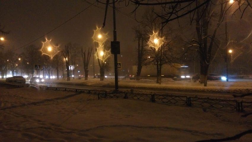 Night Illuminated Street Light Lighting Equipment No People City Outdoors Sky Moscow Myhtc