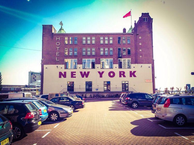 HNY Hotel Building Urban City