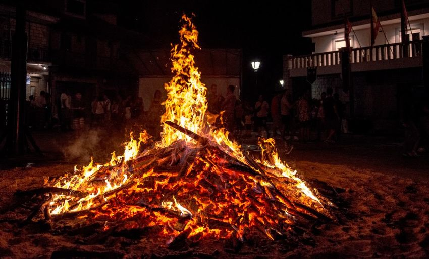 Noche de fuego First Eyeem Photo