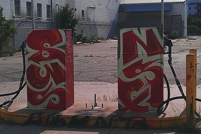 Street Art/graf Sunrise Denver Co.