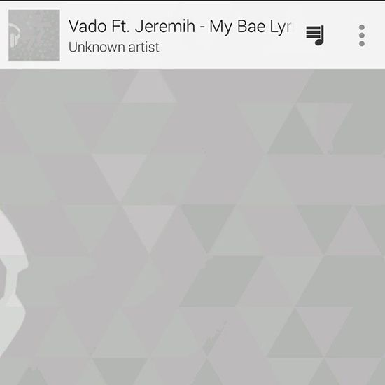 Bumping early Vado Jeremiah MyBae