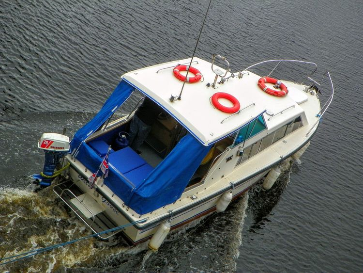 Boat Elevated View Nautical Vessel Outdoors River Tyne, Water