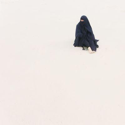 Ghuraba Outdoors One Person Adult People Day Winter First Eyeem Photo Minimal Minimalism Lensculturestreet Magnumphotos Instasunda Travelingtheworld  Muslim Woman Muslim Culture Islamic Art