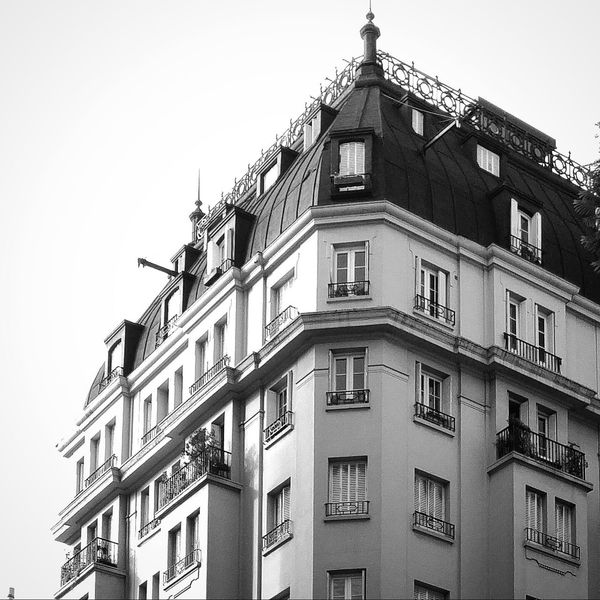 Corner in Recoleta. French Style Architecture Walking Around Design Classic Photography Blackandwhite Photography Black And White Photo
