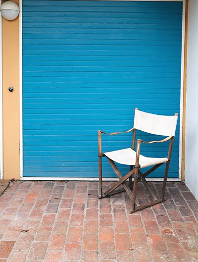 EyeEm Selects Scandinavia Door No People Blue Built Structure Architecture Finn Juhl Day House Building Chair Vintage Design Midcentury Modern