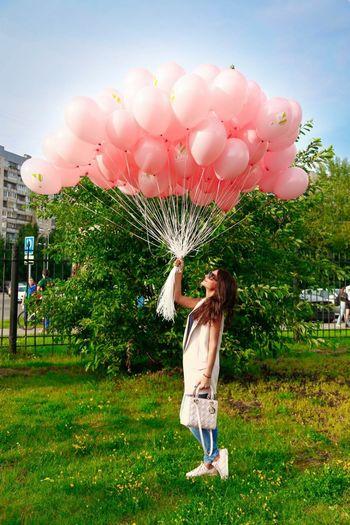шарики Alexx Strelkovv Girl Russian Girl на улице девушки Portrait улица