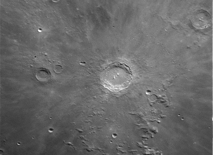 Moon Crater Astronomy Astrophotography