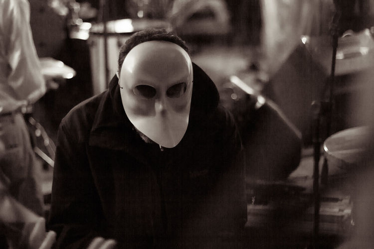 Carnival Disguise Disguise My Appearance  Music Purim Mask Night One Person People Phantom Real People Specter Teder