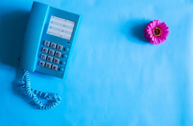 telephone on