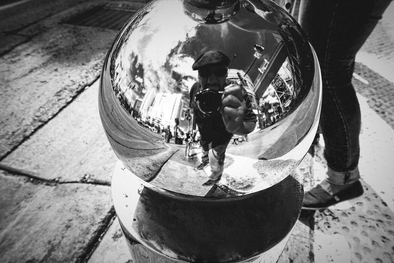 Blackandwhite Urban Reflections Streetphotography