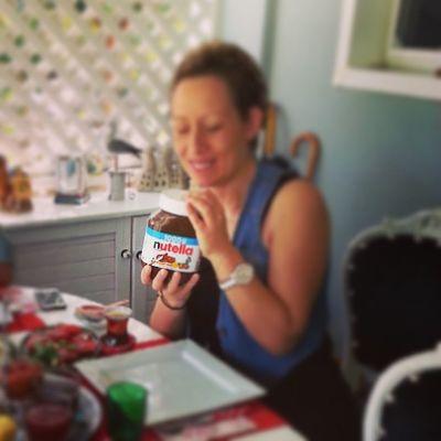 @mylifelif @cigdemseferoglu Nutella Aşkına Instalike Aşk lezzet