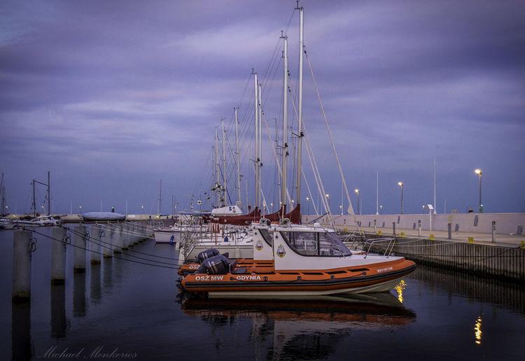 Ships Ships Night Lights Nightphotography Sky