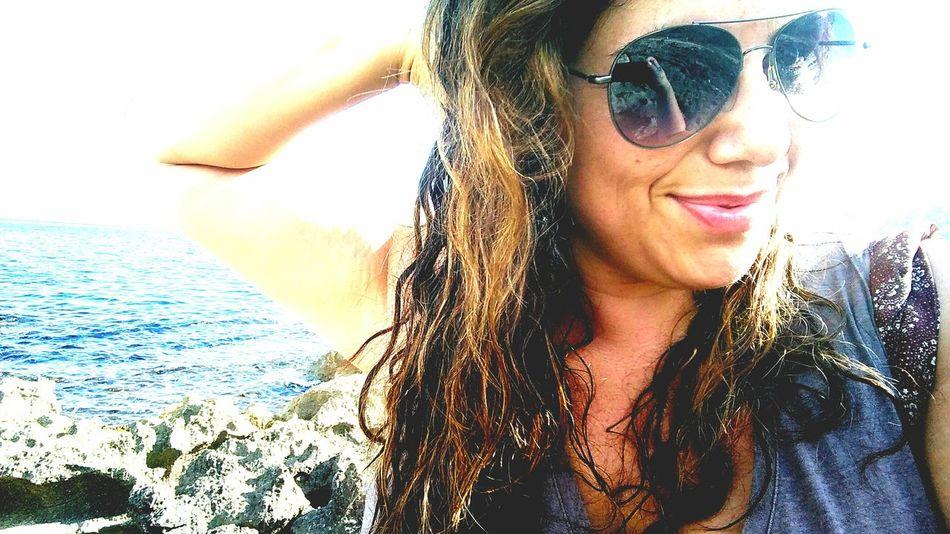 Me Woman Of EyeEm Sea Last Swim Selfie Selfportrait