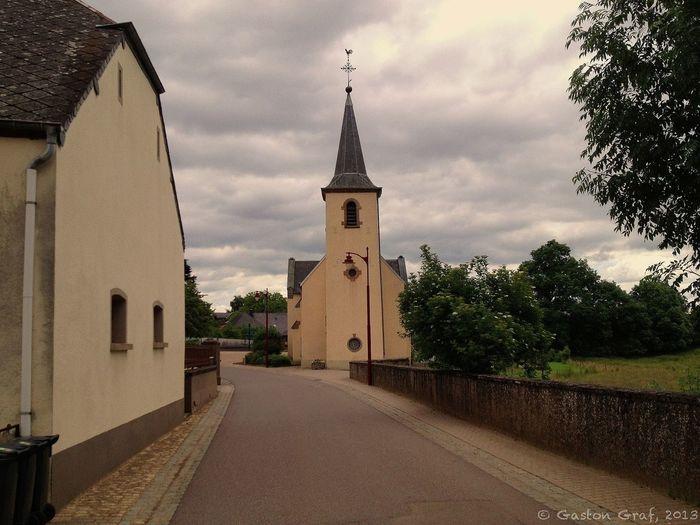 The little village church of Schandel in Luxembourg. Village Church
