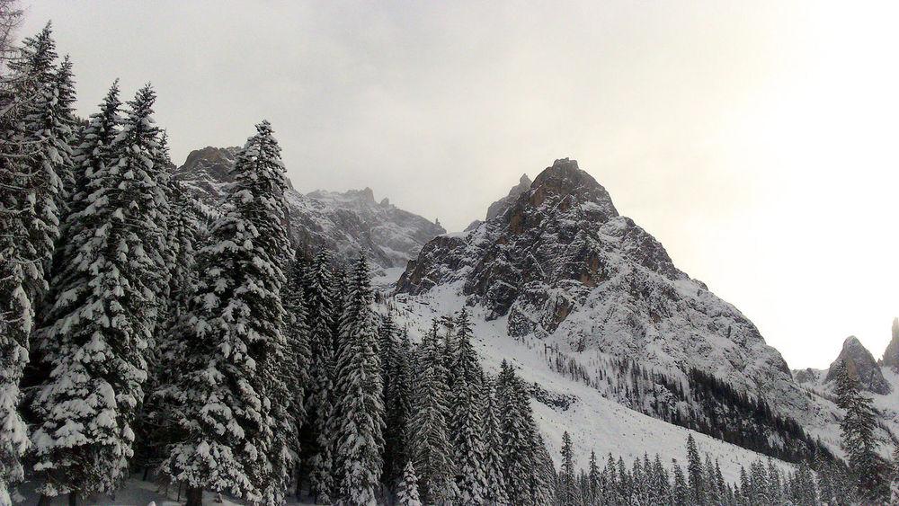 Cold Temperature Landscape Mountain Scenics Snow Snowcapped Mountain Tranquility Val Pusteria Winter