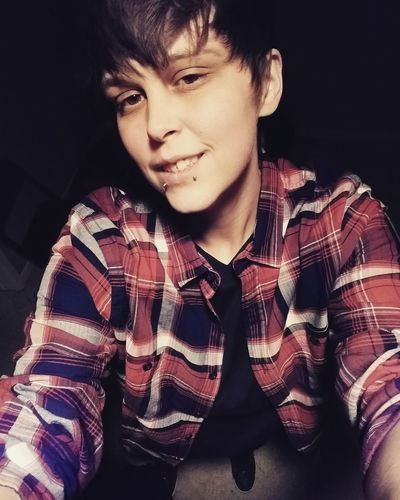 Lesbian Butch Me Selfie Gay Gay Girl Wllw Lgbt Snakebites Flannel Only Men One Person One Man Only Adults Only People Adult Headshot First Eyeem Photo