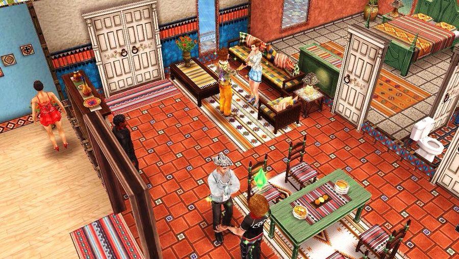 Playing Games Sims3 Sims Funny Enjoying Life Joking Live, Love, Laugh