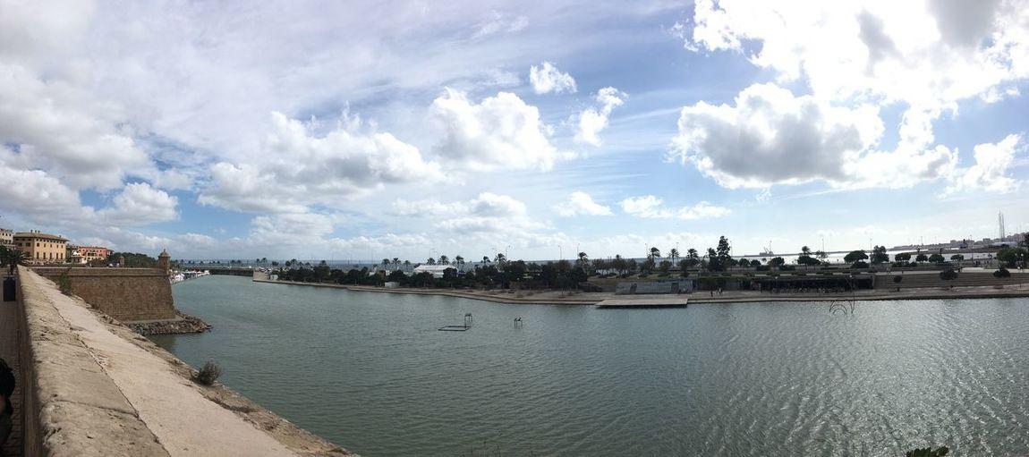 River Sky Cloud
