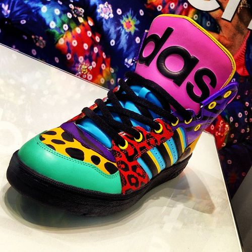 Colourful! Shoe Sandshoe Sneakers Adidas Fashion Street