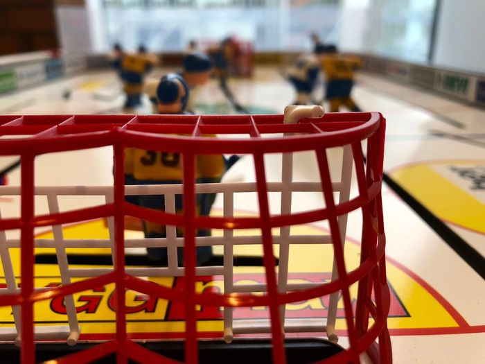 Close-up Game Hockey Indoors  No People Table Table Hockey Toy