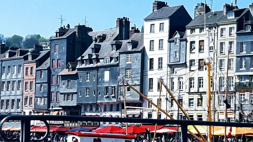 Little Journey Travelling For Week End Been There Port Boats⛵️ Buildings Windows Roofs Beautiful Day Enjoying Life Sunlight And Shadow The Week On Eyem EyeEm Gallery Honfleur Normandie, France