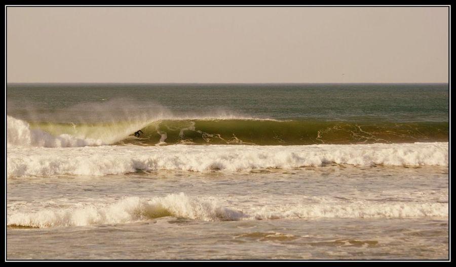 Surfing Surf Oceanside Seaside Playa De Zarautz