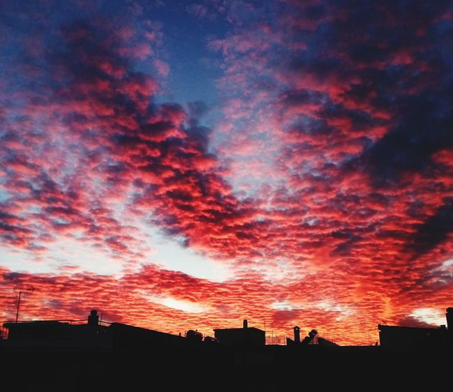 Greece Sunset Clouds And Sky Cloudporn Bloodart