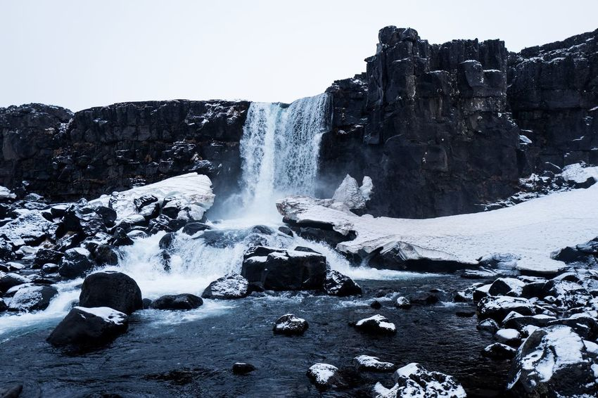 Iceland Waterfall Iceland Nature Travel Beauty In Nature Landscape Nature Outdoors Travel Destinations Water Waterfall Go Higher