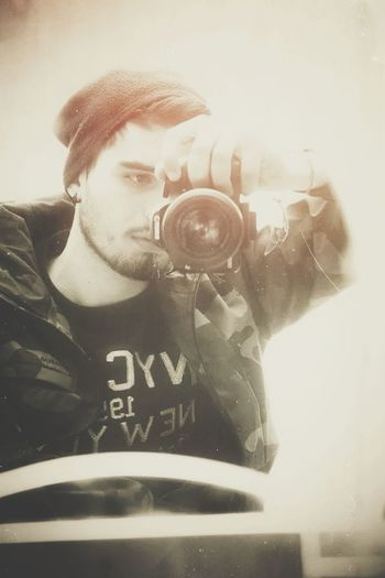 Taking Photos That's Me Hot Boy Guy