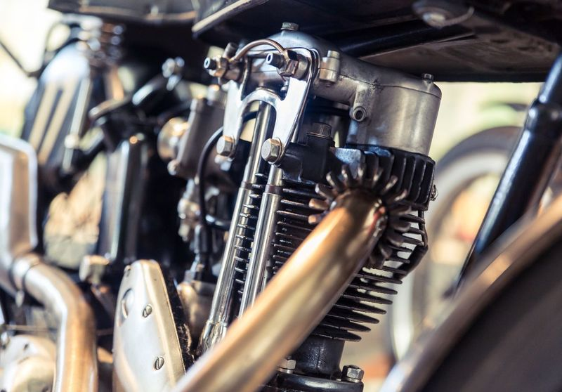 Motorbike Engine Metal Engine Mode Of Transport No People Close-up Motorcycle Photography EyeEmNewHere Triumph Motorcycle