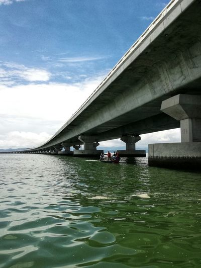 Penang Second Bridge Discoverpenang Penangmalaysia Bridge - Man Made Structure Connection Architecture Built Structure Water Outdoors Day