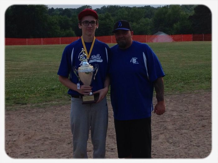 My son Christian & Coach Lapidus after their baseball team won the district championship! My Happy Place  Great Memories Proudmom