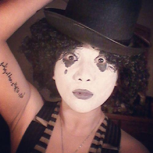 Halloween Charliechaplin Mask Mime costume
