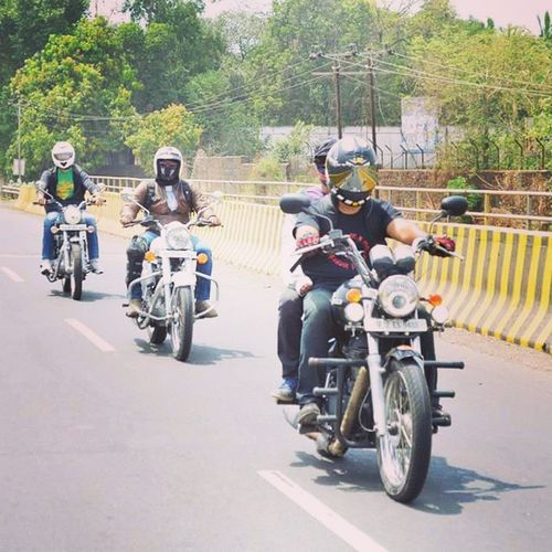 Royalenfield Ls2 Ride to remember Thunderbird500