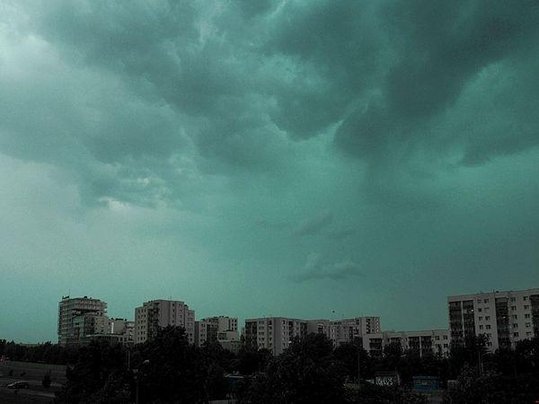 Sky Storm Cloud City Nature Warszawa  Warsaw Polska Poland