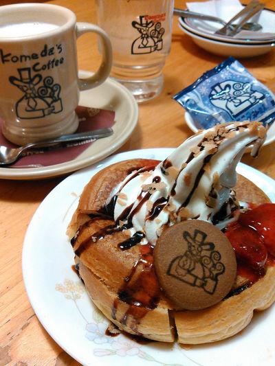 コメダ珈琲 Food And
