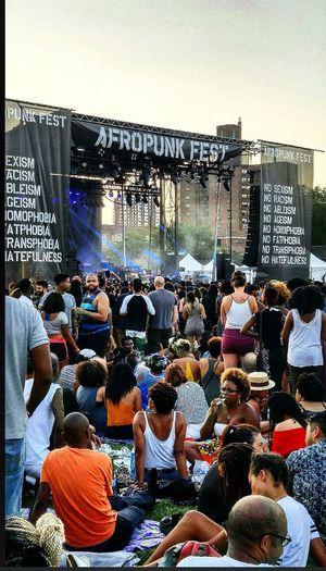 Afropunkfest2015 Smartphonephotography Hanging Out Enjoying Life Afropunkbrooklyn Barrycommodorepark NYC Photography Summertime
