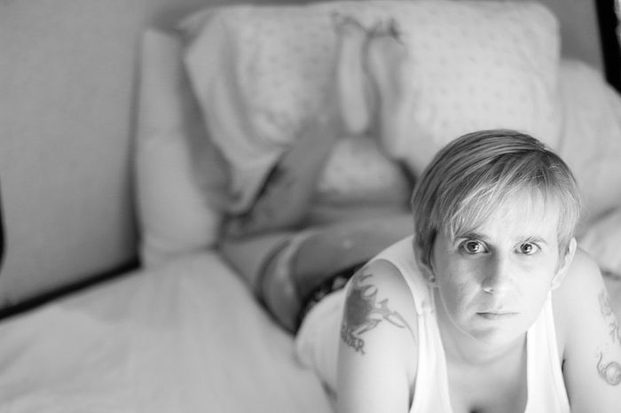 Lacy Check This Out Taking Photos Women Womens Portraiture Blackandwhite Androgyny Black And White Portrait Of A Woman Androgynous Girl Androgynymodel