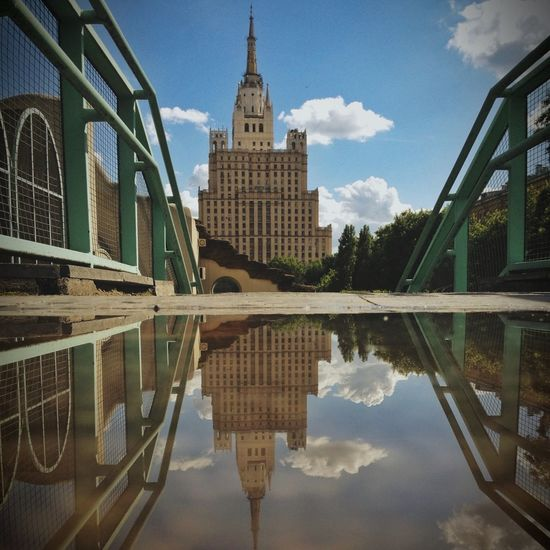 Rainy Days Puddleography Water_collection Summer In Moscow