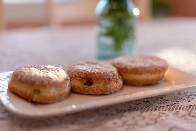 Dining Room Donuts Fat Tuesday Home Paczki Day Day Dessert Doughnuts Focus On Foreground Food Indoors  Indulgence Lace Paczki Pastry Plate Polish Selective Focus Shrove Tuesday Sweet Table Traditional