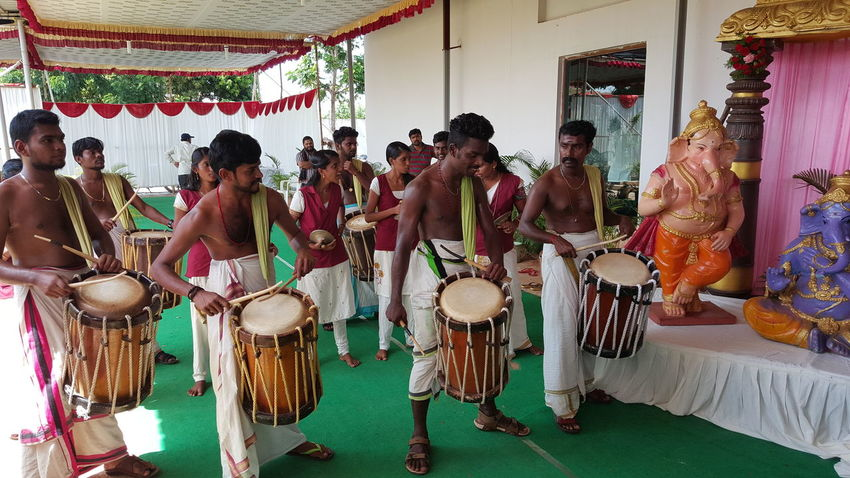 Chenda Melam - Kerala traditional temple drums, Kerala South India Hi! Hello World Check This Out Taking Photos Enjoying Life Chendamelam Chendakottu Chenda Traditional Dress Traditional Drums Drummers Sound Instrument EyeEm Eyem Gallery Eyeemphotography Eye4photography
