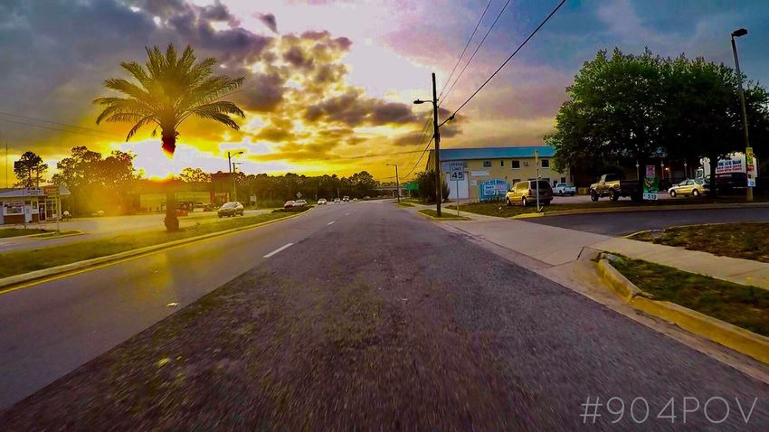 Simple ☀️ Sunset Views Jacksonville St Augustine, FL Gopro 904 Instagram Bikelife Twowheels Lifestyle EyEmNewHere