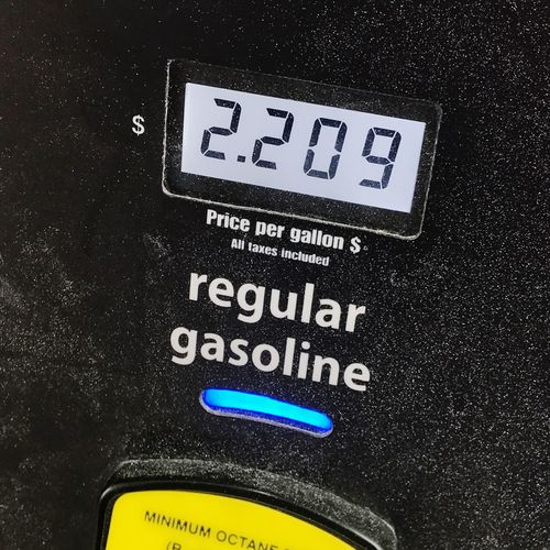 Gas price February 2018 2018 Unleaded Gasoline Gas Pump Price Gas Prices  Gas Technology Close-up No People