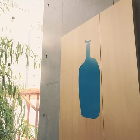 Blue Bottle Coffee Blue Bottle Morning Light Morning Lights Entrance Aoyama 青山