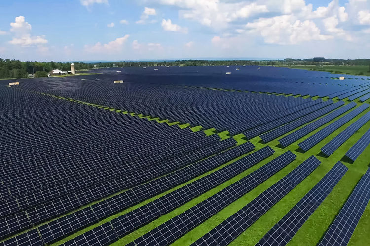 solar panels Sky Environment Nature Environmental Conservation Renewable Energy Alternative Energy Cloud - Sky Fuel And Power Generation Landscape Solar Panel Agriculture Land Solar Energy Day Field Technology Outdoors No People Beauty In Nature Scenics - Nature Sustainable Resources Solar Panels