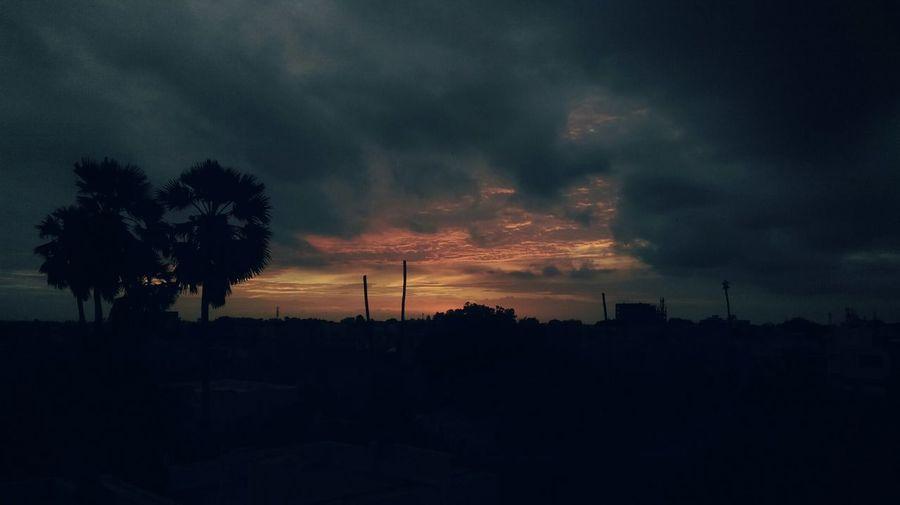 Sunset Like Danm!!!😍 Sunset Silhouettes Sunset