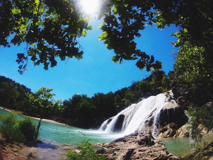 First Eyeem Photo Nature Water Waterfall Summer Views